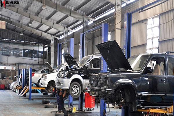 Quy định của pháp luật về việc thành lập cửa hàng bảo hành, bảo dưỡng ô tô