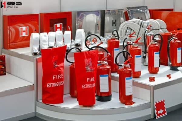 Bổ sung ngành nghề Lắp đặt và Kinh doanh thiết bị, vật tư và quần áo phòng cháy chữa cháy