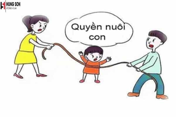 quyền nuôi con sau ly hôn