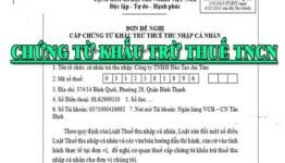 Những điều cần biết về chứng từ khấu trừ thuế TNCN