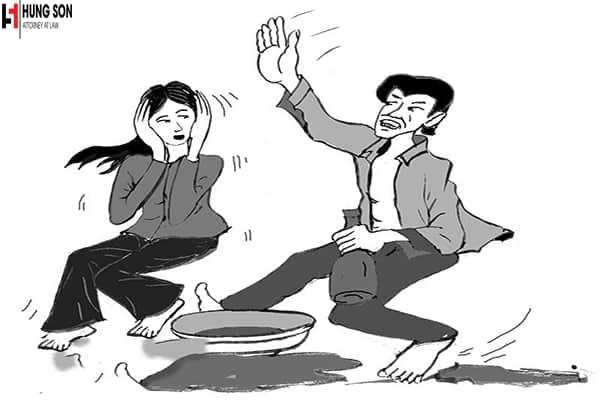 Bị chồng bạo lực thì làm như thế nào ?