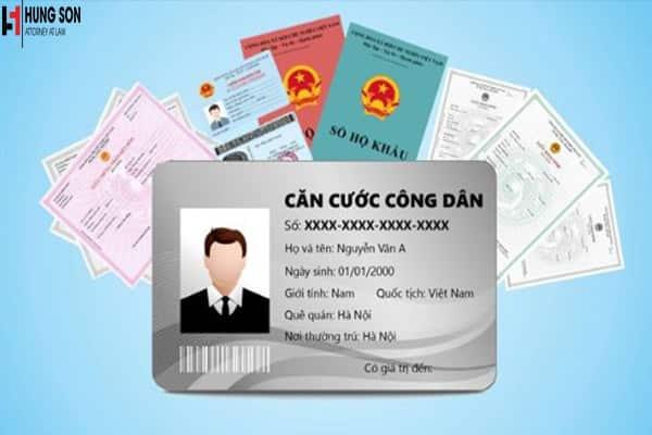 thủ tục cấp lại thẻ căn cước công dân
