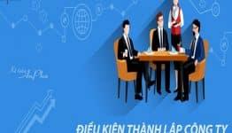Những điều cần biết về thủ tục thành lập công ty 2020