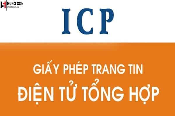 thủ tục xin giấy phép icp