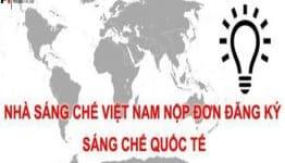 Điều kiện nộp đơn đăng ký quốc tế sáng chế có nguồn gốc tại Việt Nam là gì?