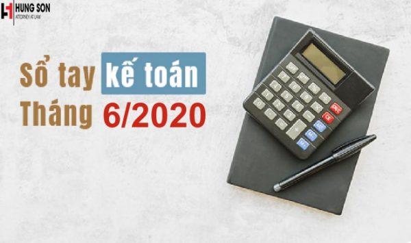 Những điều kế toán cần làm trong tháng 6/2020