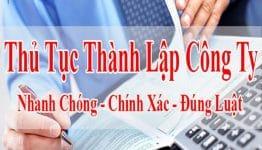 Thủ tục thành lập công ty tại Lạng Sơn nhanh chóng, dễ dàng