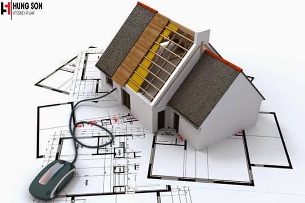 xây nhà trên đất vườn
