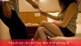 Khách sạn cho gái bán dâm thuê phòng để mua bán dâm có bị xử lý không?