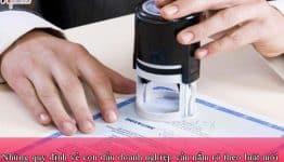 Những quy định về con dấu doanh nghiệp cần nắm rõ theo luật mới
