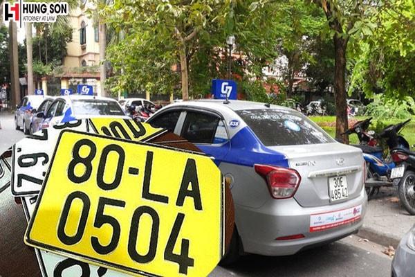 Làm cách nào để có thể đổi biển số xe sang màu vàng?