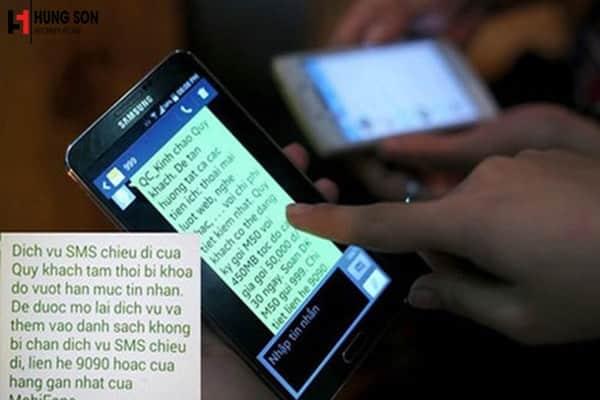 nhắn tin gọi điện quảng cáo khi người nhận không đồng ý