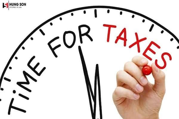 chậm nộp hồ sơ khai thuế