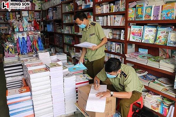 Sẽ xử lý thế nào khi phát hiện có người in ấn buôn bán sách lậu?