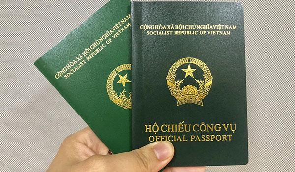 Hộ chiếu công vụ