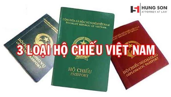 3 loại hộ chiếu hiện nay của Việt Nam