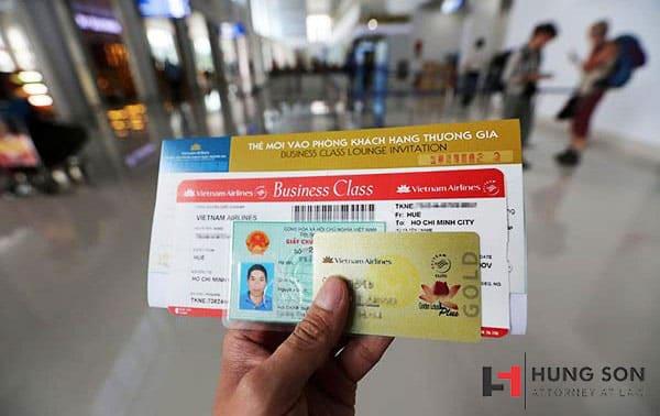 Các giấy tờ cần thiết khi thực hiện chuyến bay trong nước