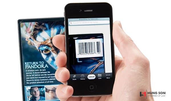 Sử dụng ứng dụng kiểm tra mã vạch sản phẩm không phân biệt được hàng thật hàng giả