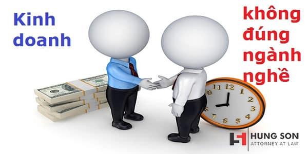 thẩm quyền xử phạt khi kinh doanh không đúng ngành nghề đăng ký