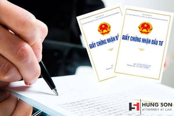 Hồ sơ, thủ tục điều chỉnh giấy chứng nhận đầu tư