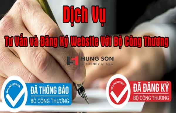 Dịch vụ đăng ký website với Bộ Công thương tại Luật Hùng Sơn