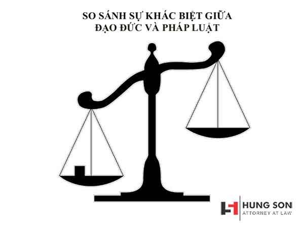 So sánh sự giống và khác nhau giữa đạo đức và pháp luật