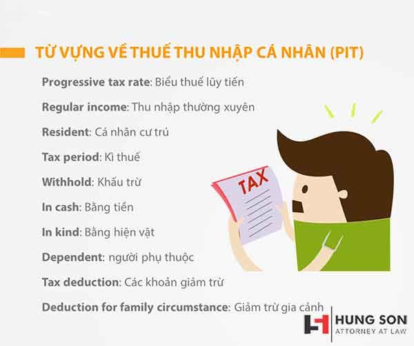 Thuế thu nhập cá nhân tiếng anh là gì? Những thuật ngữ thuế kế toán thông dụng