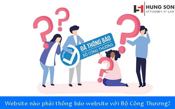 website nào phải đăng ký với bộ công thương