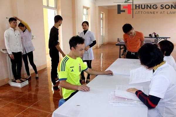 Vòng sơ tuyển diễn ra tại trạm y tế xã, phường