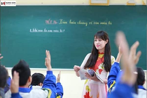 chế độ thai sản cho giáo viên nữ