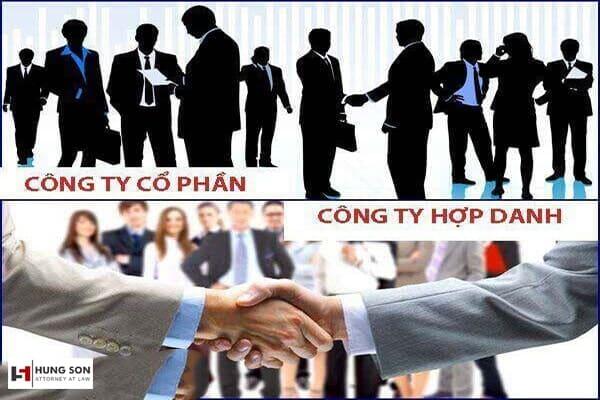 so sánh công ty cổ phần và công ty hợp danh
