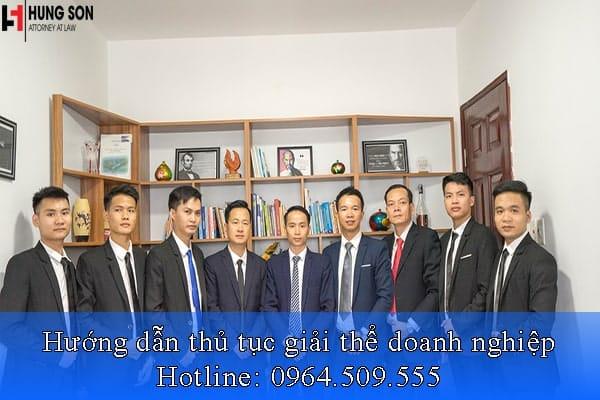 Hướng dẫn thủ tục thanh lý tài sản trước khi giải thể doanh nghiệp tại Luật Hùng Sơn